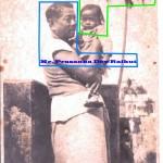 Mr. Prasanna Dev Raikut & son Gouri Shankar Dev Raikut